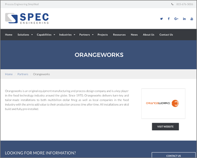Orangeworks goes USA